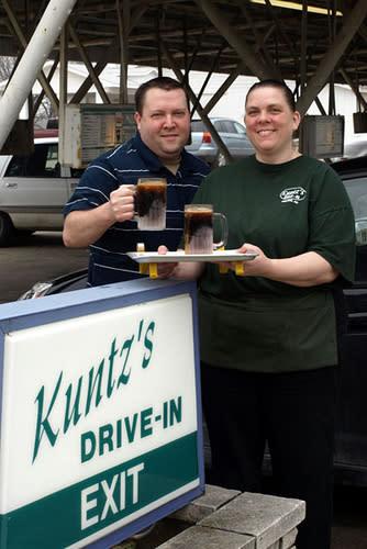 Kuntz's drive-in