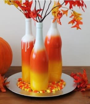candycorn glass