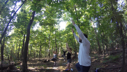 Appalachian Trail Yoga in Loudoun