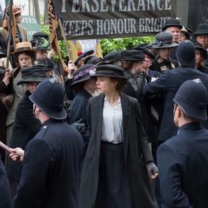 Scene from Suffragette premiering at the Middleburg Film Festival