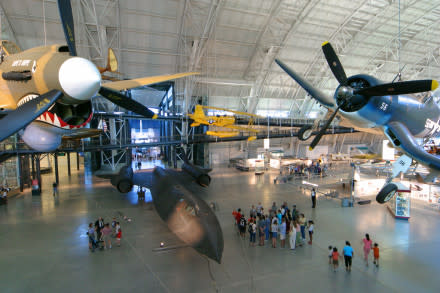 The IMAX isn't the only big attraction at Udvar-Hazy!