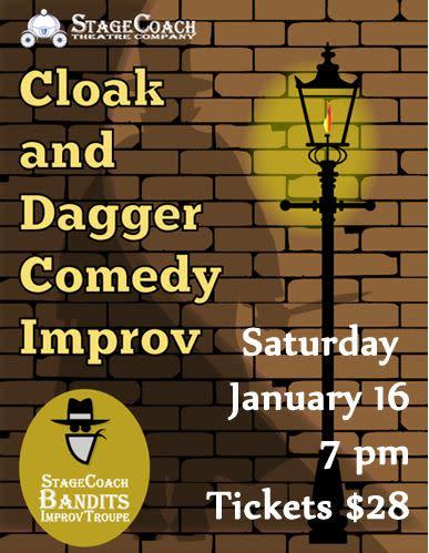 Cloak & Dagger Comedy Show