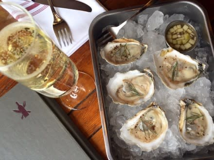 It's hard to beat oyster and wine pairings at the Wine Kitchen.