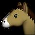 emoji horse