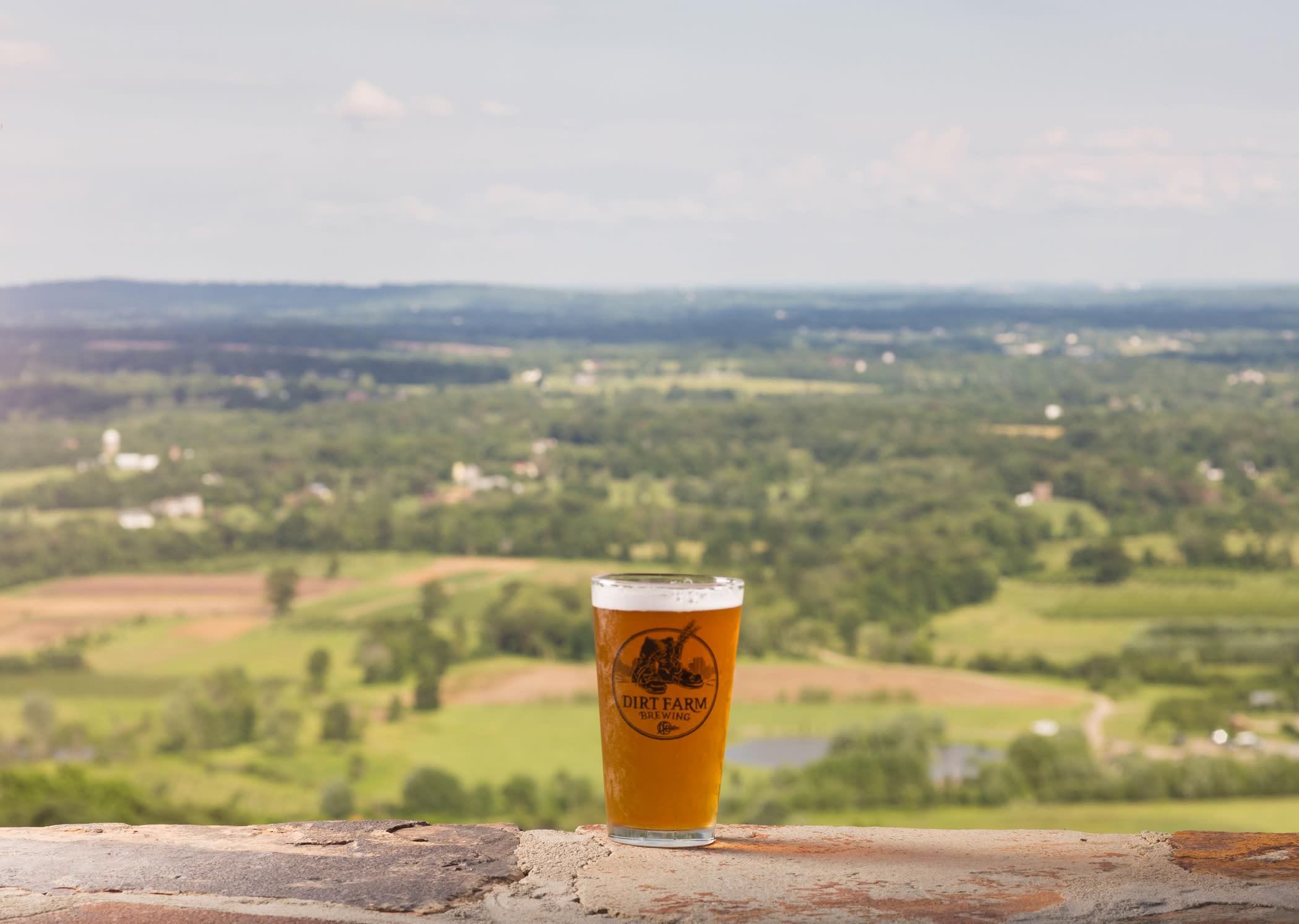 Dirt Farm Beer Landscape