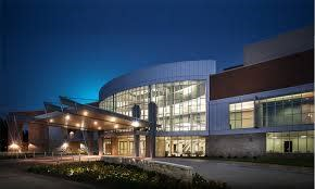 Example of industrial quality Executive Meeting and Events Center KOP-BID and VFTCB envision. Image of Waco, TX Convention Center