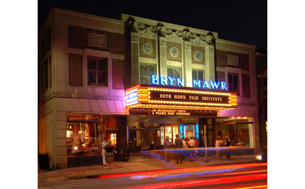 The Bryn Mawr Film Institute holds its monthly film discussion on Sunday morning.