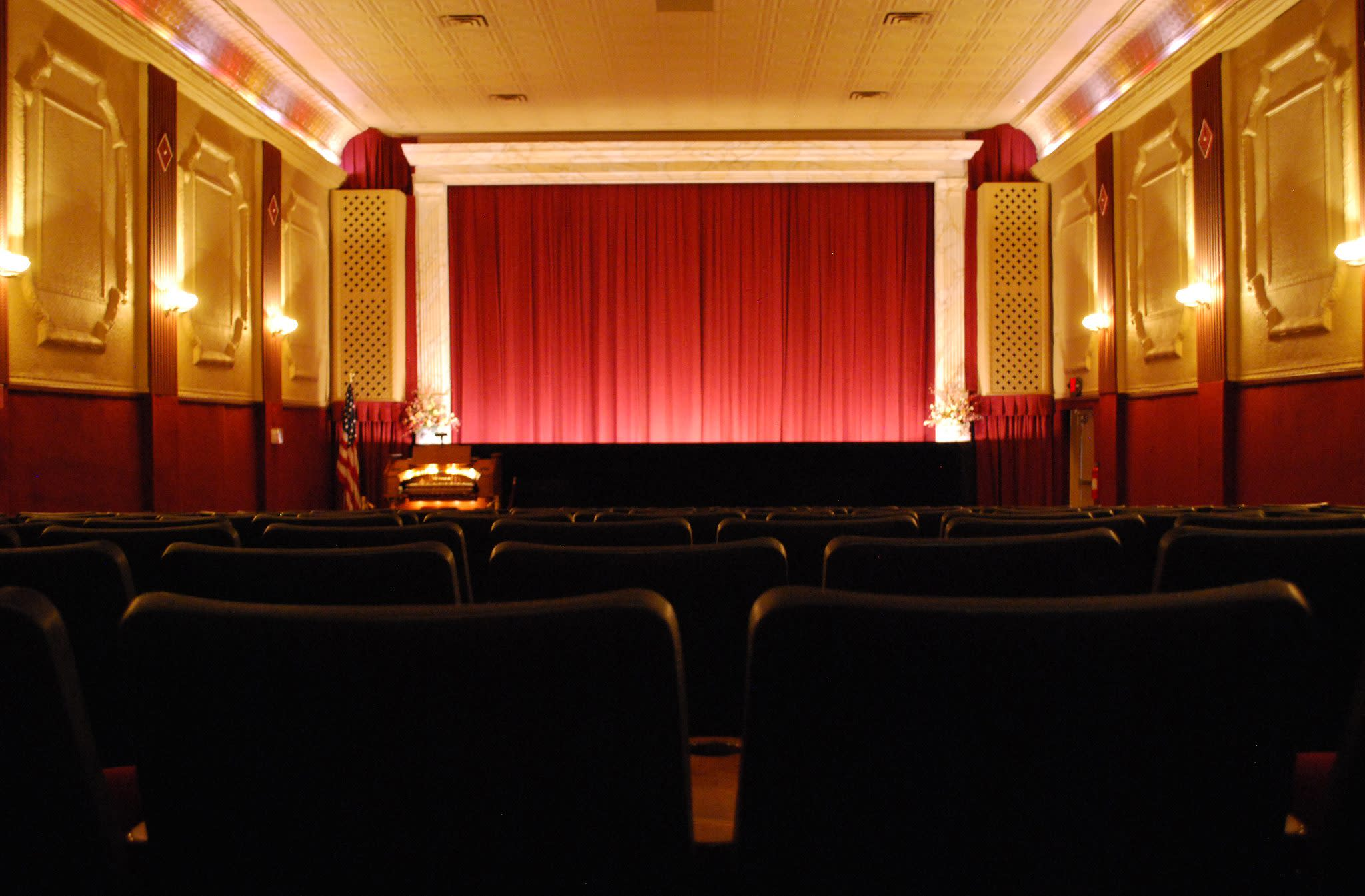 Catch a movie at the historic Grand Theater in East Greenville.