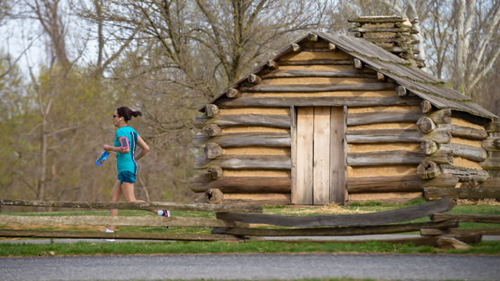Runners will pass a variety of memorials and landmarks along the 5-mile race route.