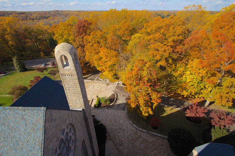 Come for the medieval magic, stay for the views at Glencairn Museum