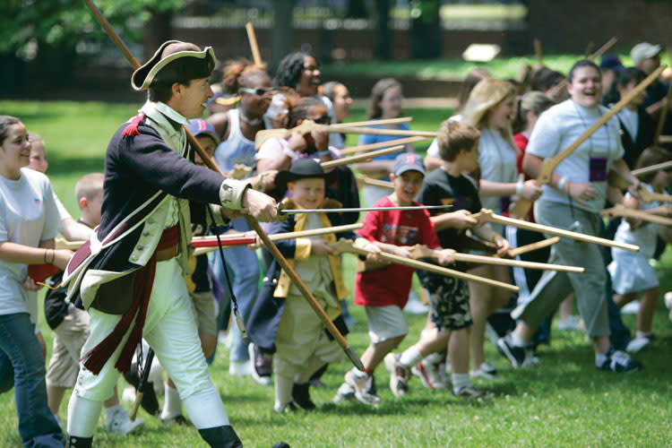 Kids can Join the Continental Army this Saturday at Valley Forge Park.