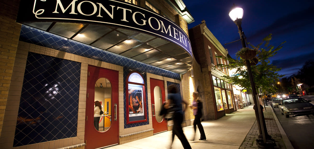 The Montgomery Theater in Souderton.