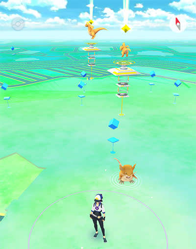 Entering the Pokémon Go Age of Dragons