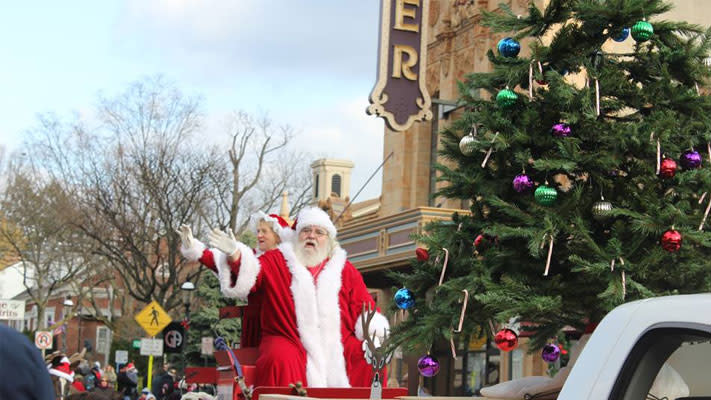 The Ambler Holiday Parade marches down Butler Avenue on Saturday at 4 p.m.