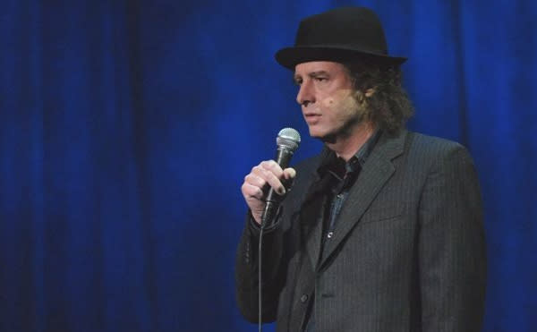 Steven Wright brings his unique comedy to the Keswick Theatre this Friday night.