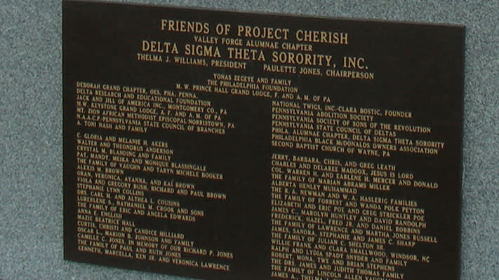 Paulette Jones, a member of Delta Sigma Theta, was involved with the memorial from the beginning.