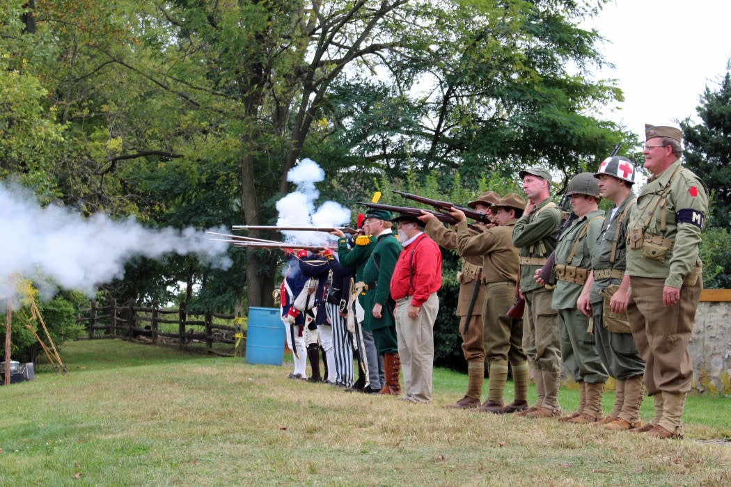It's a history and heritage extravaganza at Paoli Memorial Grounds