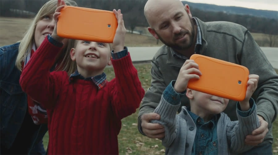 The Tomlinson family, seen here in our Patriot Trails video.