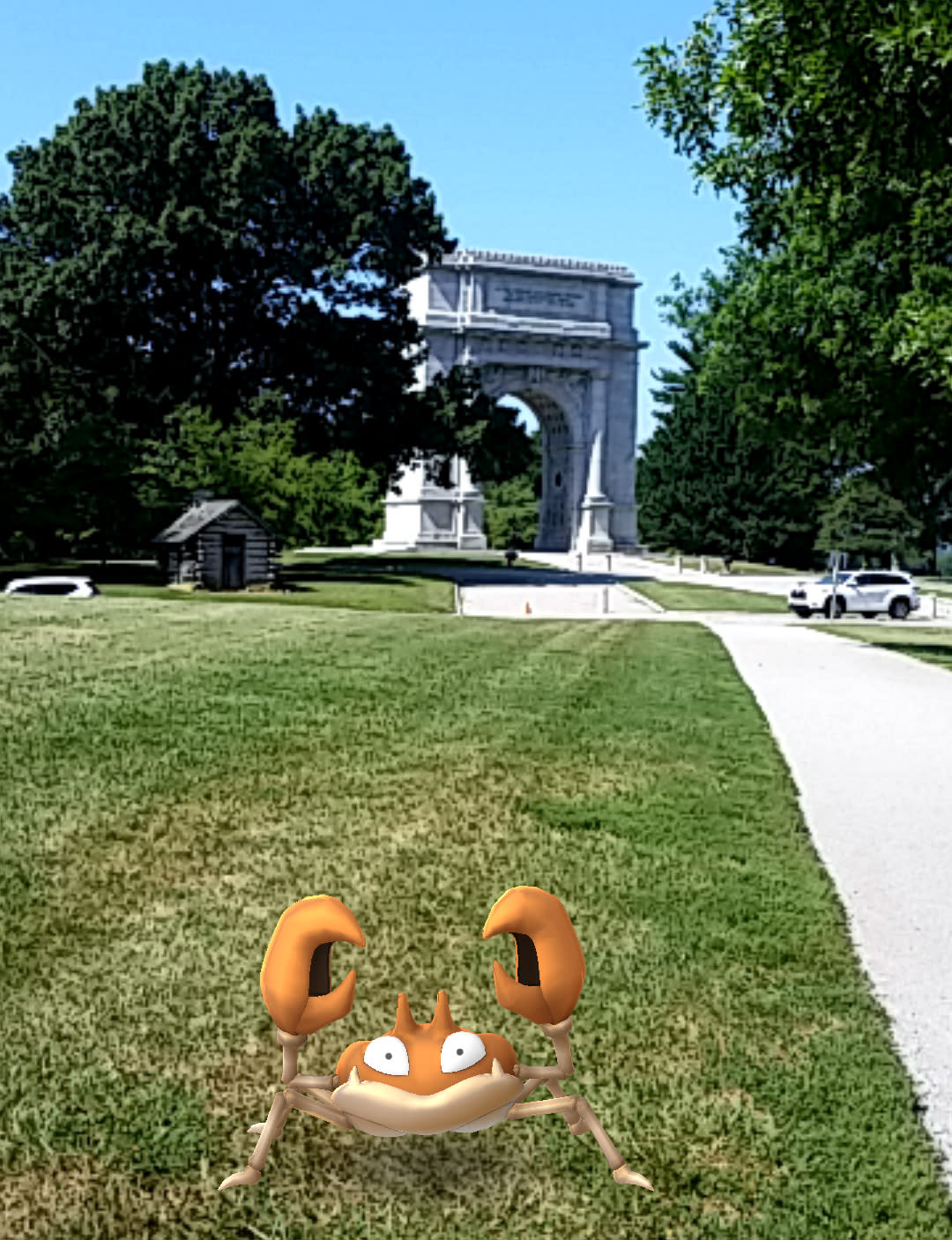 No Reasons to be Krabby at the National Memorial Arch