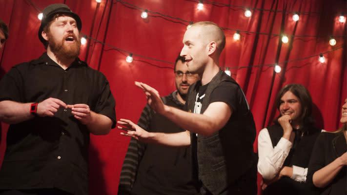 In 2005, BJ Ellis (left) was a founding member of the N Crowd.