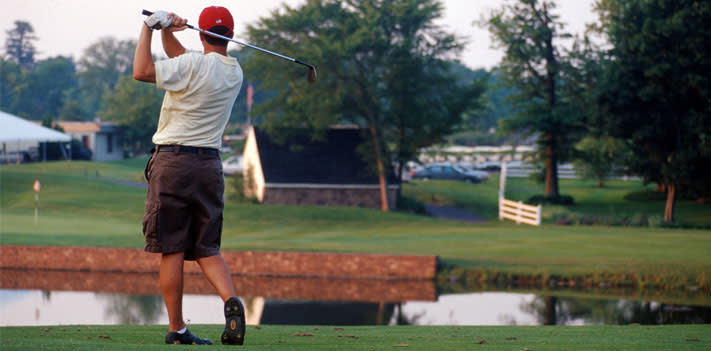 Dust off your clubs and play one of Montco's 54 golf courses.