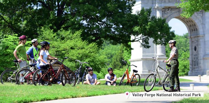 Valley Forge Park Offers Bike Tours - Perhaps a Pokémon Tour Soon?