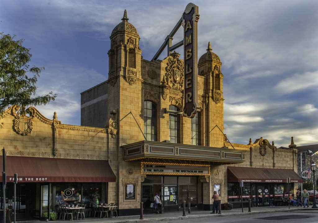 Throwback thursday with ambler theater