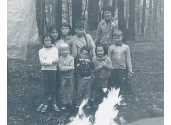 Dan Camping as a Kid (second from left), circa 1968