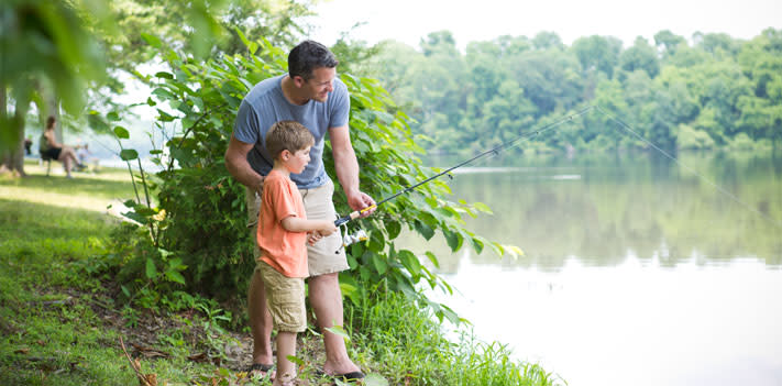Green Lane Park hosts a family fishing workshop on Saturday.