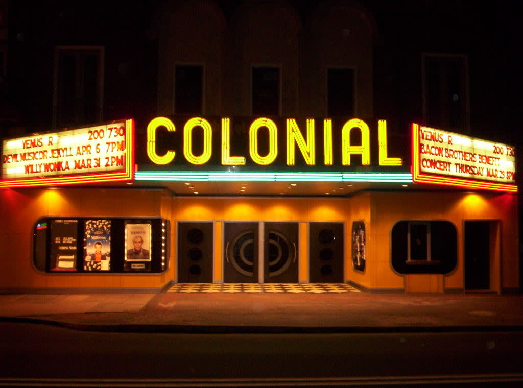experience some old school spook at the Colonial Theatre