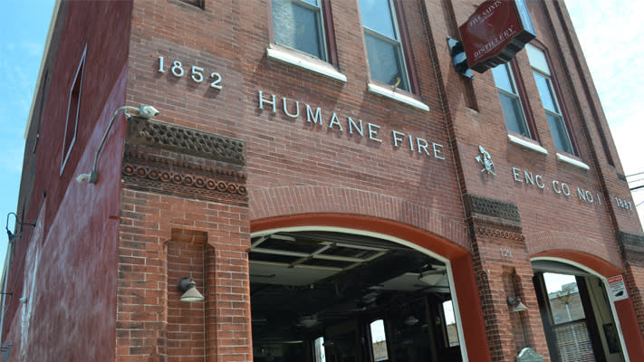 The former Humane Fire Co. now quenches thirsts instead of fire.