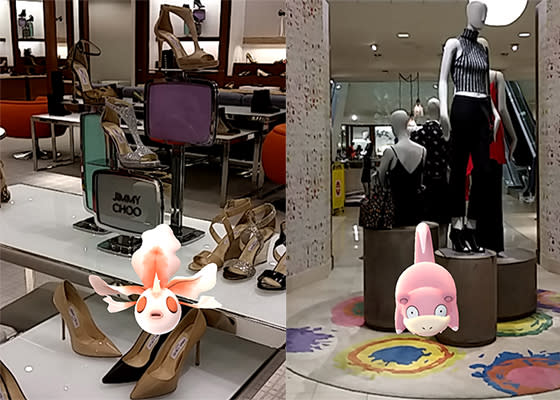 Get Glamorous with Goldeen and Jimmy Choo, Then Kick Back in Style with Slowpoke