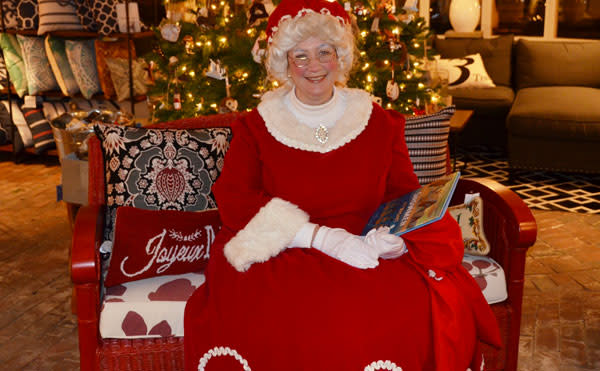 Visit this lovely lady to kick off Christmas early