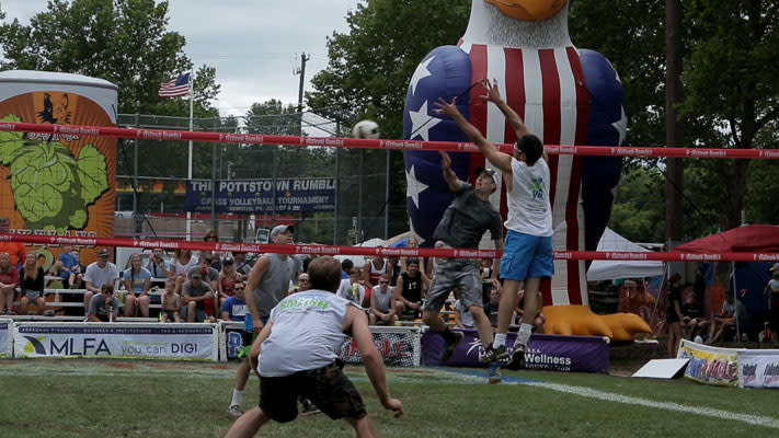 More than 3,200 players descend on Montco for the annaual Pottstown Rumble.