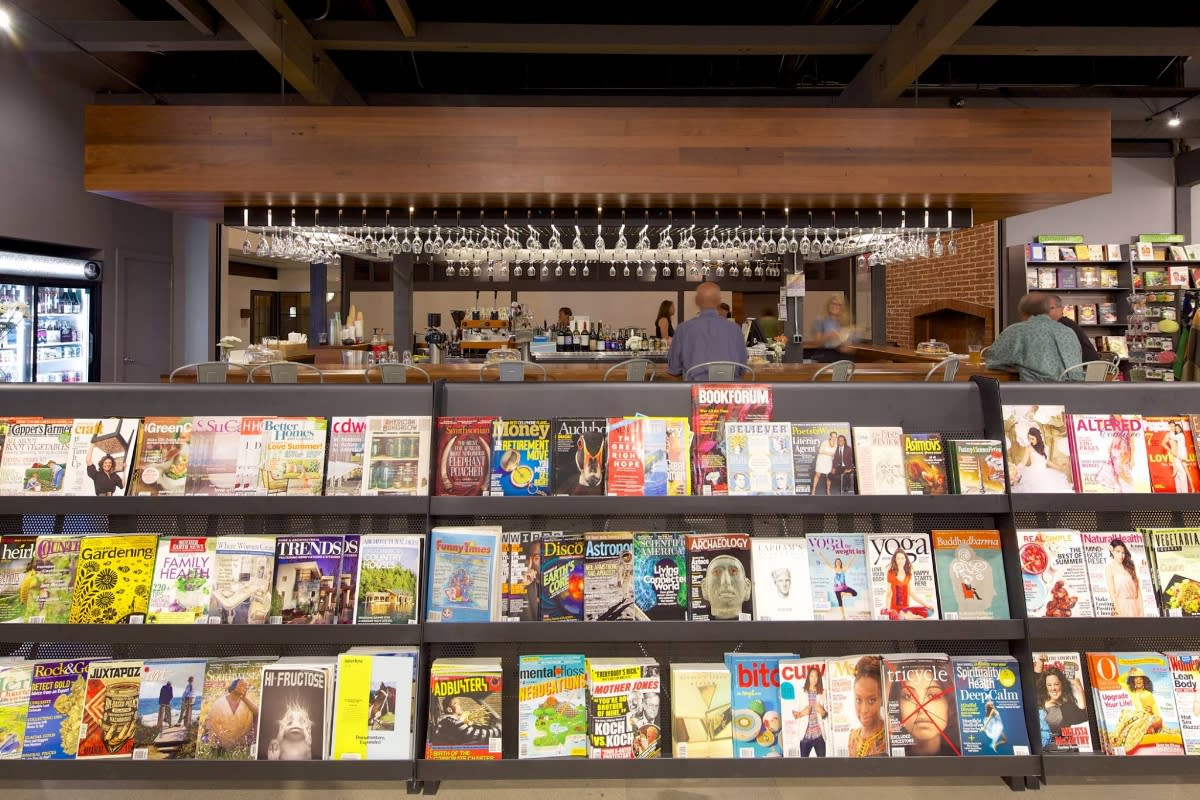 changing hands bookstore and first draft book bar