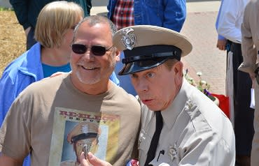 The Tribute Artists are just one of the many entertainment options during Mayberry in the Midwest in Danville, Ind.
