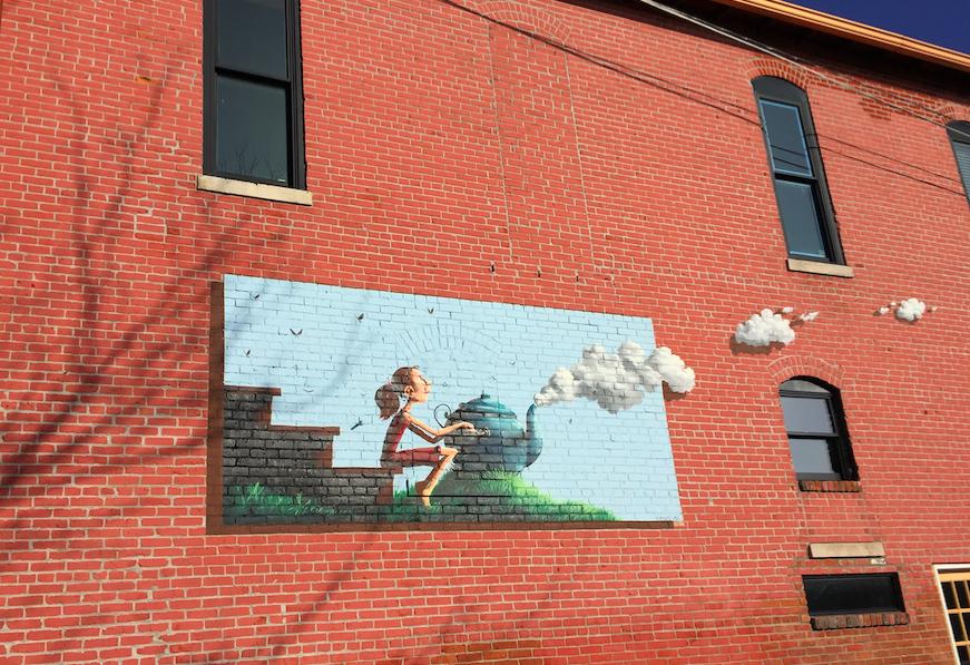 Mural girl