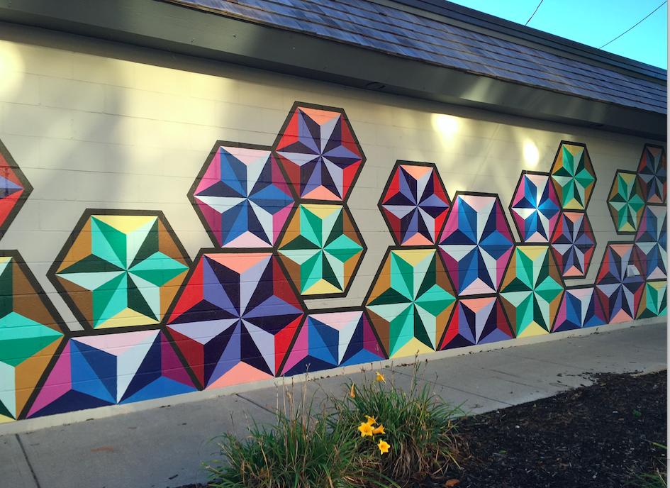 Carmel mural