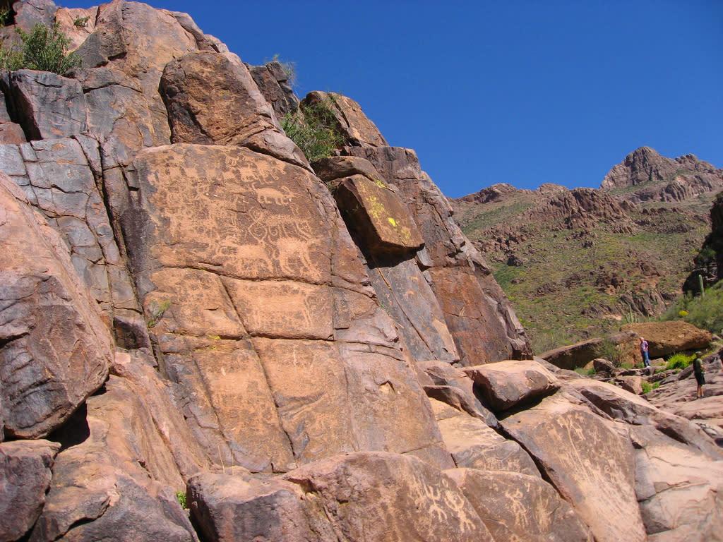 Hieroglyphic trail flickr