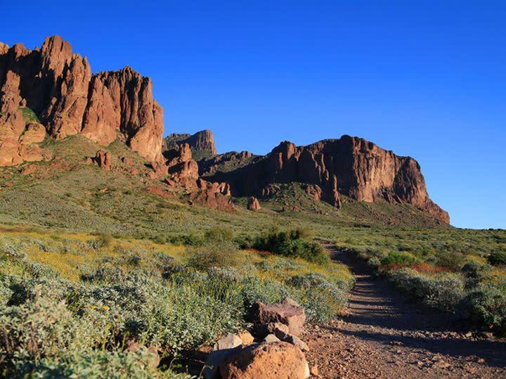 Lost Dutchman State Park via AZ State Parks