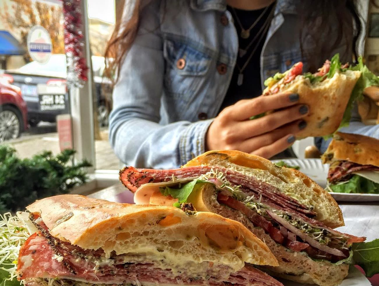 Giugni's Sandwich Shop in St Helena