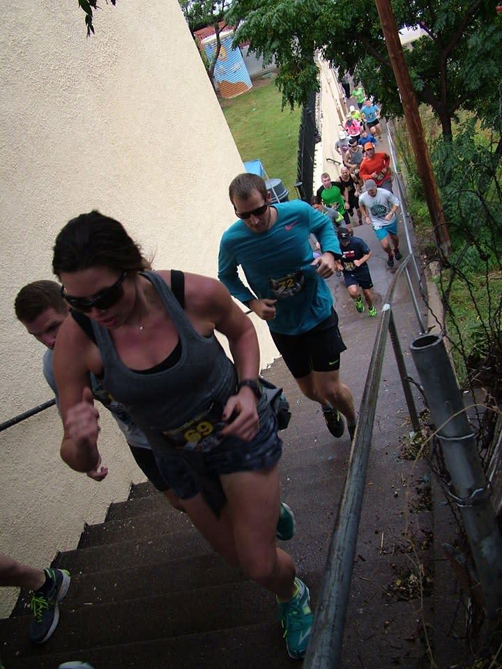 Bisbee stair climb