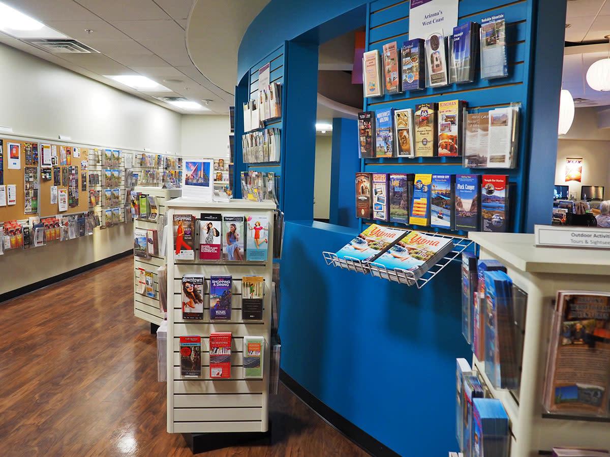visitor center brochures