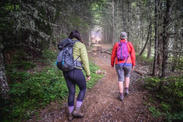 Hiking Iron Mountain by Naturally Inspired