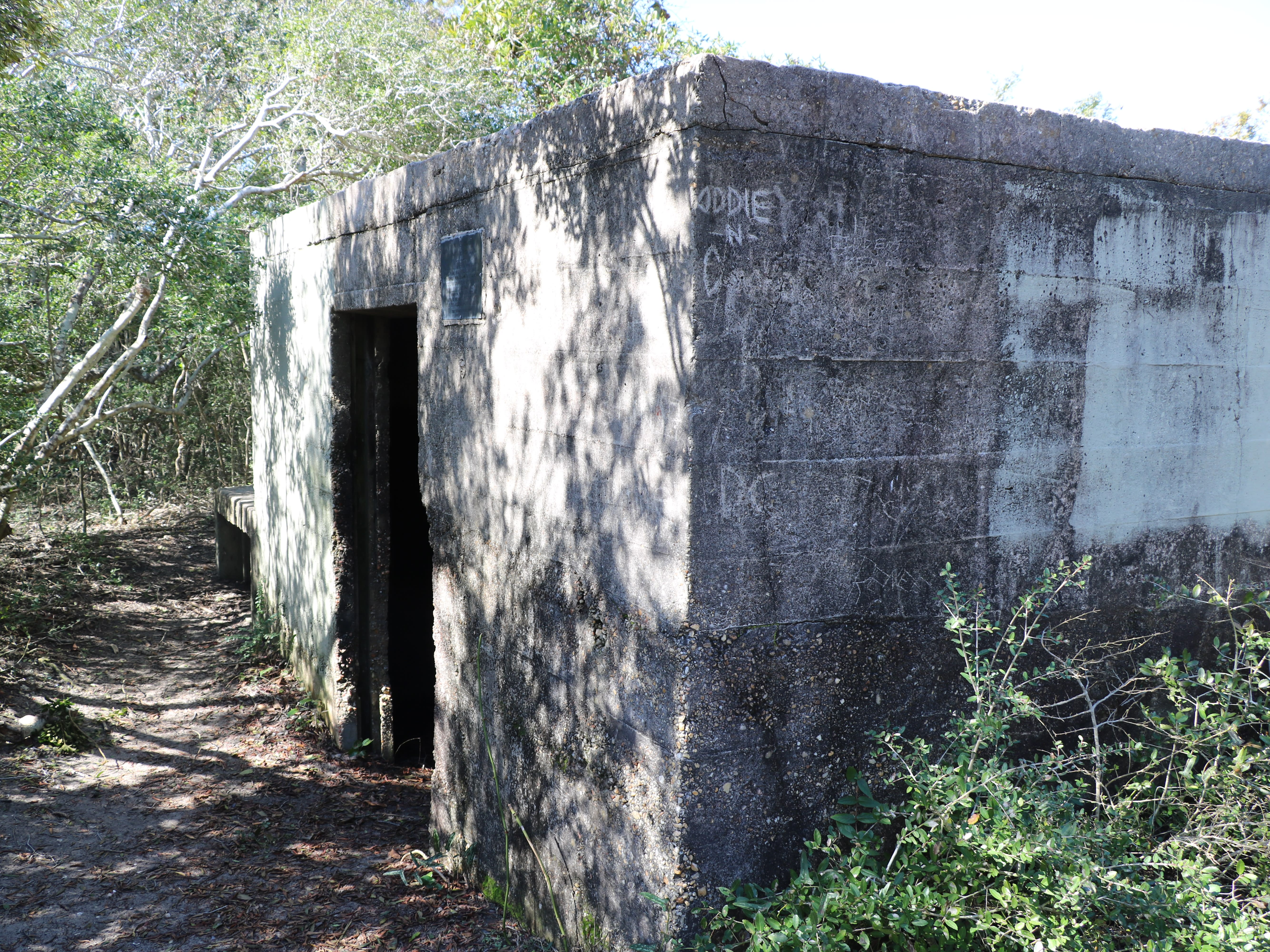 WWII Bunker on the Basin Trail