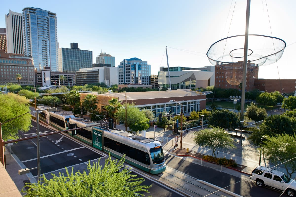 Civic Space Park and Light Rail
