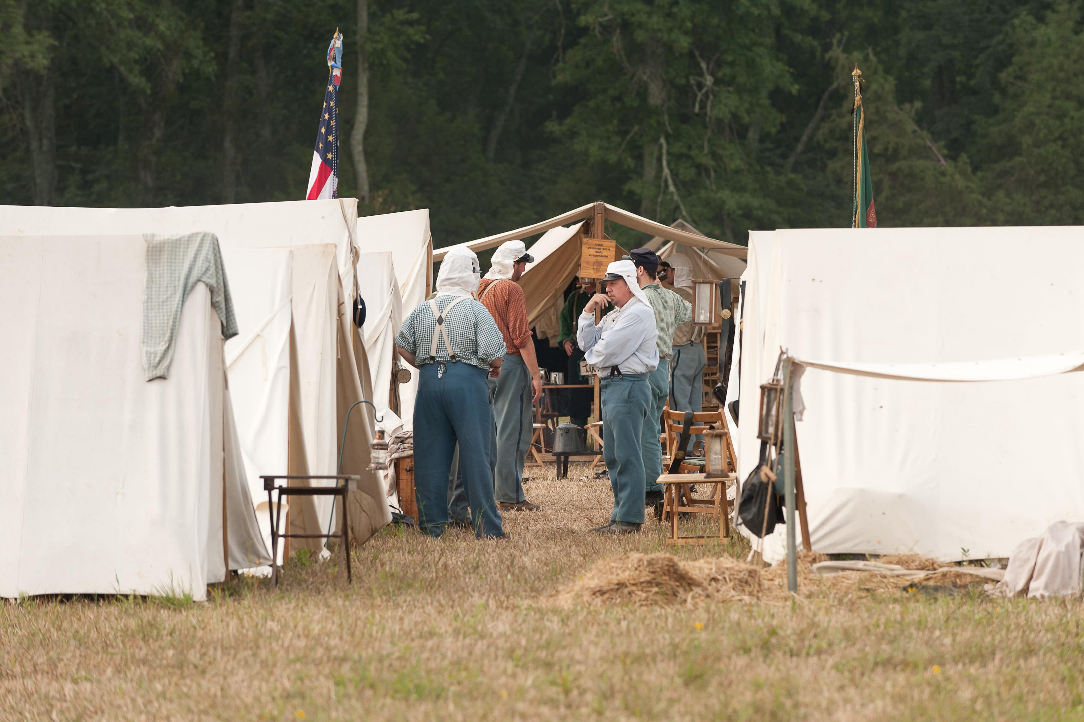 Manassas Battlefield 150th Reenactment