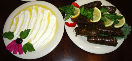 labneh-and-grape-leaves