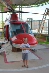 Discovery Gateway Musum Salt Lake City Utah Helicopter