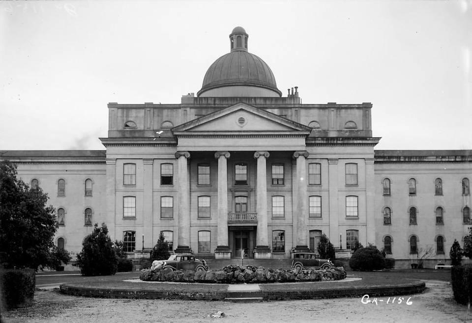 Central State Hospital's Powell Building is seen in this 1937 photo from the Library of Congress.